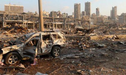 Beyrouth : des images tristes et choquantes après l'explosion