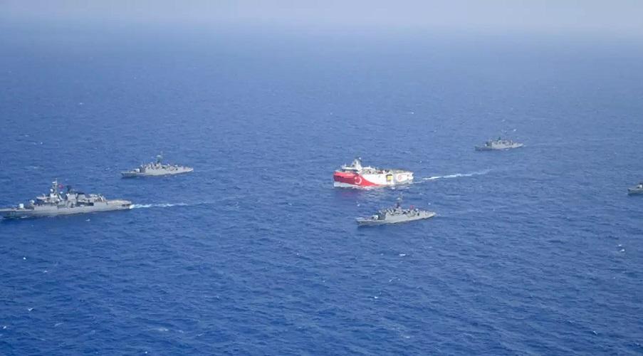 tension Turquie Grèce méditerranée orientale