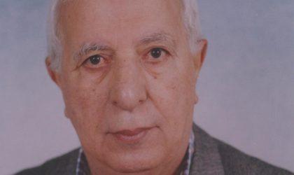 Hommage à Mohamed Lemkami parti le cœur plein d'amertume à cause de l'état du pays
