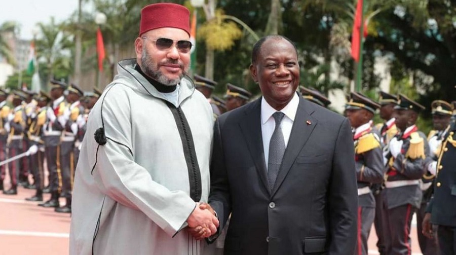 DGSE Mohammed VI Ouattara