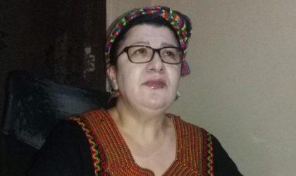 Malika Matoub explique pourquoi elle attaque en justice un résidu de Bouazza