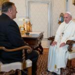 Trump Pompeo pape François 1er