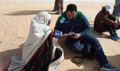 Une caravane médicale pluridisciplinaire à destination des zones d'ombre