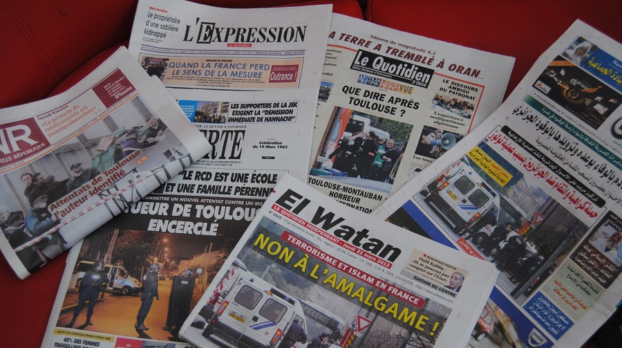 presse algerienne