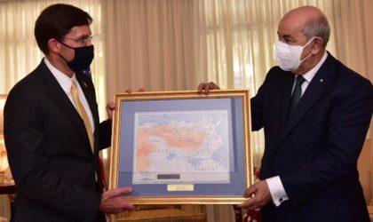 Ce qu'a écrit le Washington Post sur la visite de Mark Esper en Algérie