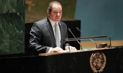 Boukadoum s'entretient avec le secrétaire général des Nations unies