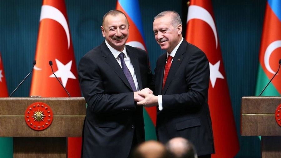 Erdogan Azerbaïdjan