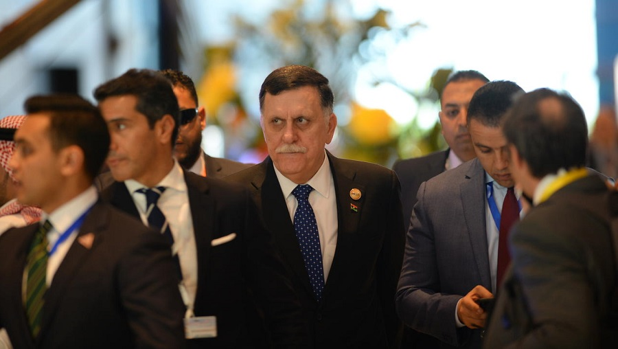 Fayez Al-Sarraj crise