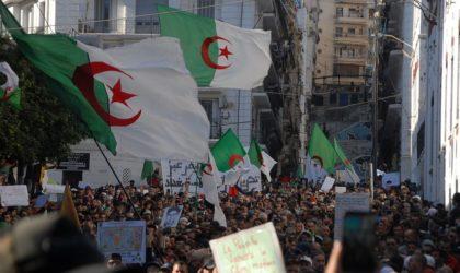 Manifestations dans le centre d'Alger à l'occasion du deuxième anniversaire du Hirak