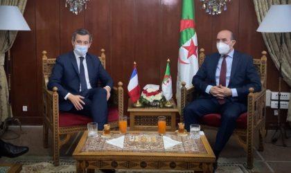 Gérald Darmanin : «J'ai eu un échange fructueux avec mon homologue algérien»