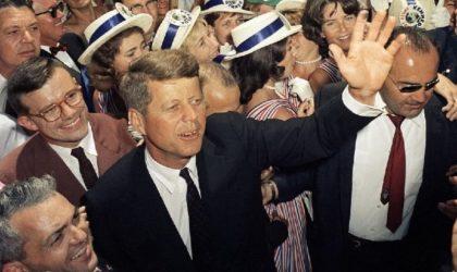 Le président américain John F. Kennedy et le discours algérien