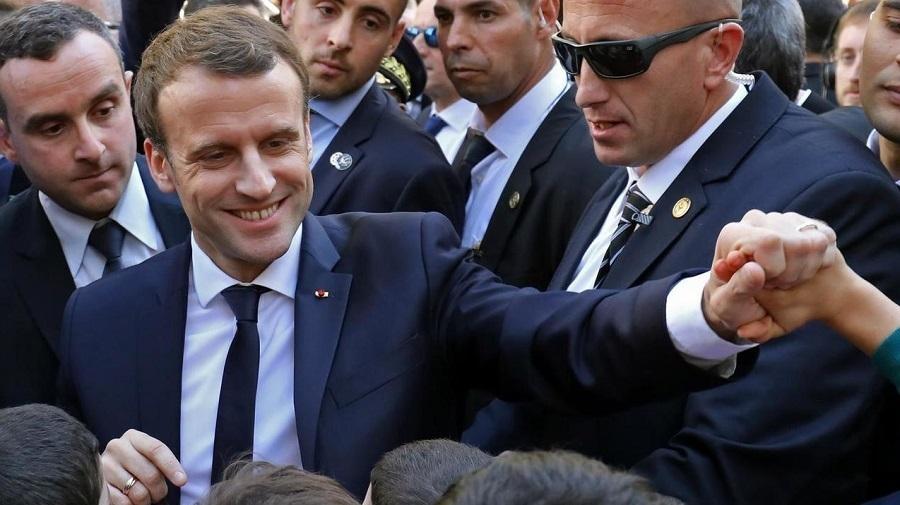 Macron président français