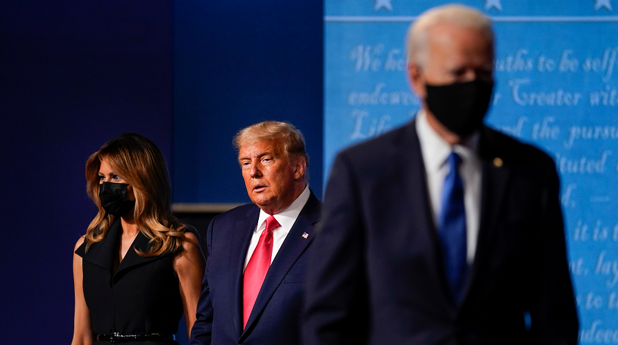 élection présidentielle américaine Covid-19