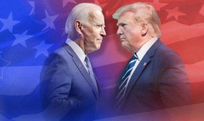 Trump-Biden : coude à coude serré dans les Etats-clés