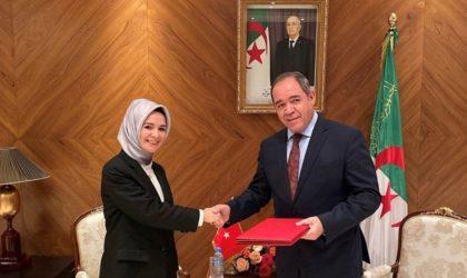 Algérie-Turquie : les échanges commerciaux peuvent atteindre les 5 mds de dollars