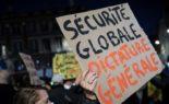 Manifestation contre la loi sécurité globale à Bordeaux