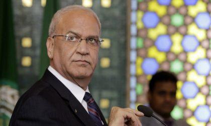 Décès du vétéran des négociations avec Israël Saëb Erakat