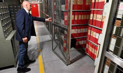 Archives : un conflit de souveraineté et non un problème d'emmagasinage