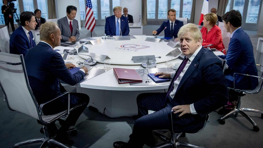 G7 claustration