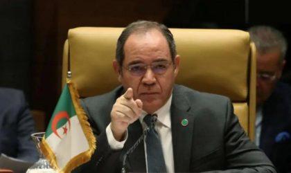 L'Algérie réaffirme que le conflit du Sahara Occidental est une question de décolonisation