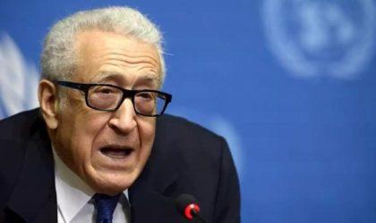 Lakhdar Brahimi : «J'ai hâte que notre armée participe aux missions de paix !»