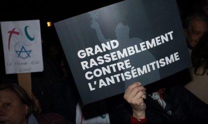 L'antisémitisme est une fourberie sioniste alliée à l'hypocrisie occidentale