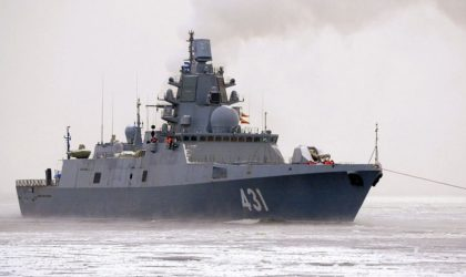 Un détachement de navires de guerre russes accoste au port d'Alger