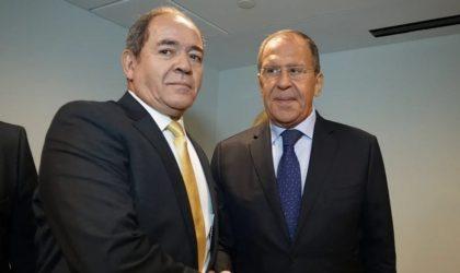 Boukadoum s'entretient avec Lavrov : vaccin et dossiers sahraoui et libyen évoqués