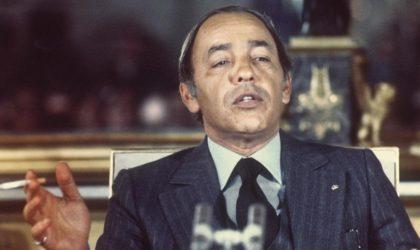 Le régime monarchique de Hassan II est derrière l'assassinat de Boumediene ?