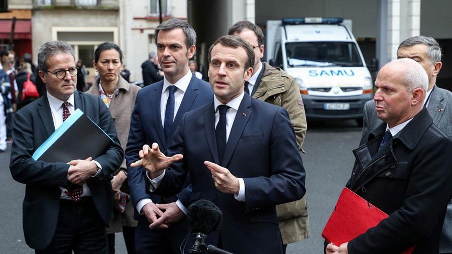 Macron talon d'Achille