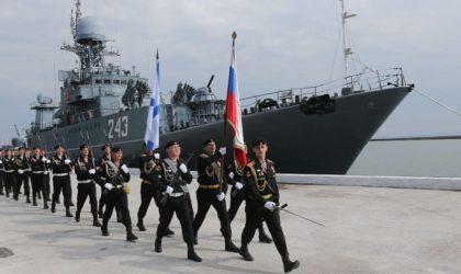 Détachement des navires de guerre russes à Alger : message reçu à Rabat