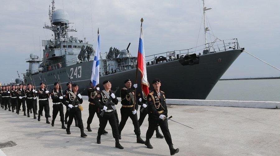 navires guerre russes Alger Rabat