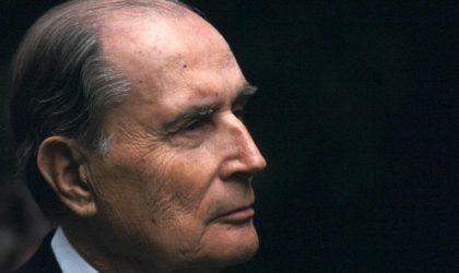Quand des Français rappellent le passé criminel de Mitterrand en Algérie
