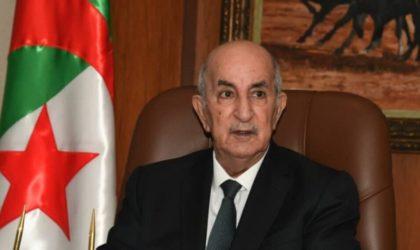Le président Tebboune subit une intervention chirurgicale réussie sur le pied droit