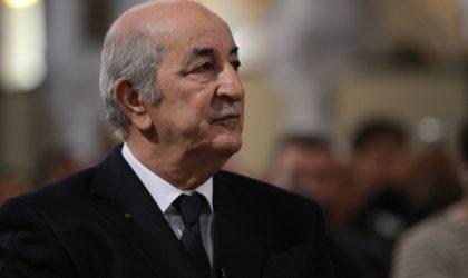 Le président de la République Abdelmadjid Tebboune s'envole pour l'Allemagne pour des soins complémentaires