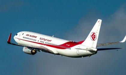 Suspension des vols internationaux de et vers l'Algérie du 1er au 31 mars