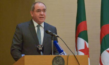 Boukadoum annonce des mesures pour promouvoir la diplomatie économique