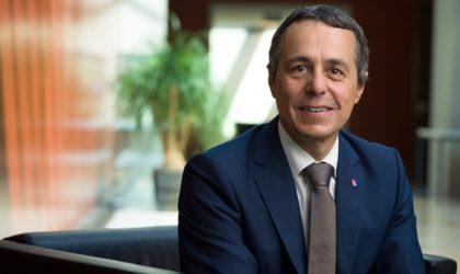 Ignazio Cassis en Algérie : Sahara Occidental et coopération algéro-suisse au menu