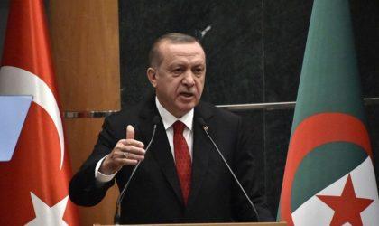 Erdogan continue de jouer la carte Algérie dans sa guerre contre Macron