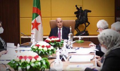 Loi électorale : les partis politiques présentent leurs propositions au président Tebboune
