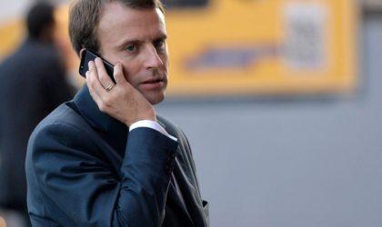 Appel téléphonique de Macron à Tebboune : booster la coopération bilatérale