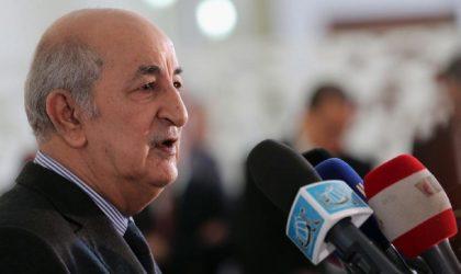 Le président Tebboune signe le décret de dissolution de l'APN