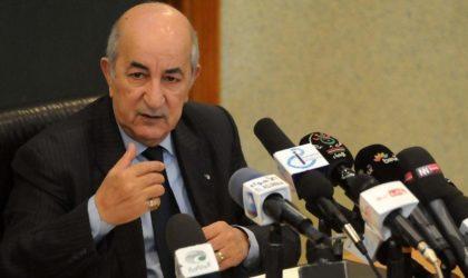 Discours du président de la République : les annonces d'Abdelmadjid Tebboune