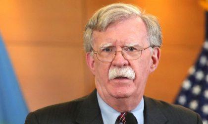 John Bolton : «L'Algérie est un partenaire stratégique pour les Etats-Unis»