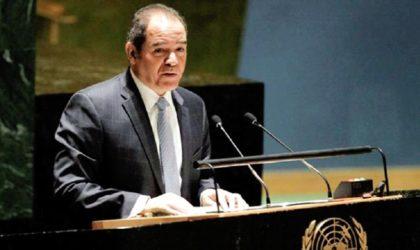 Boukadoum met en avant le rôle de l'Algérie dans l'interdiction totale des essais nucléaires