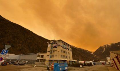 Le sable emporté par le vent du désert algérien jusqu'en France est radioactif