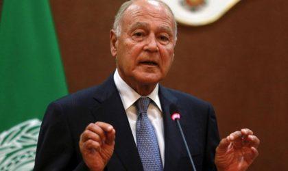155e session du Conseil de la Ligue arabe : unanimité autour d'Ahmed Aboul Gheit pour un 2e mandat