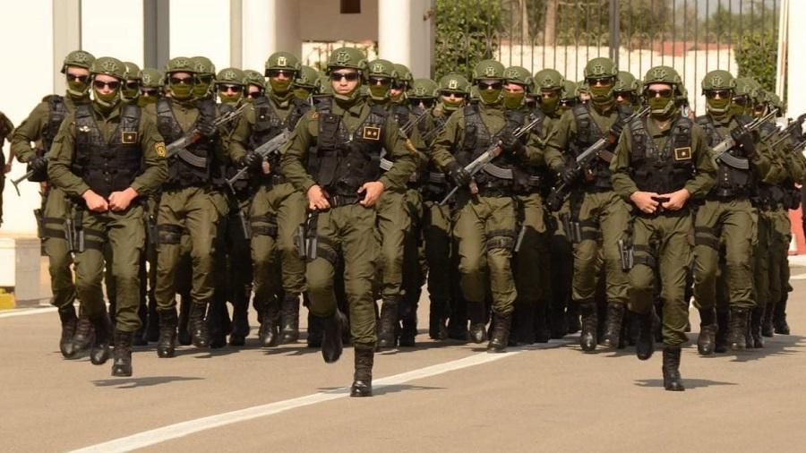 Gendarmerie paysans marocains