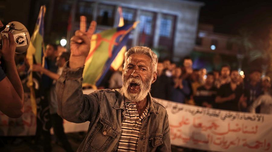 Maroc contestation