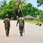 Mozambique armée